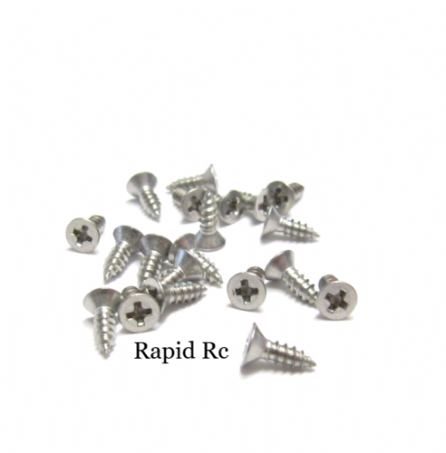 2.2mm x 6.5mm Stainless steel Counter Sunk  Phillips Head Self Tapping screw